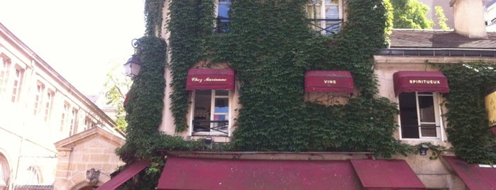 Chez Marianne is one of Paris - gutes Essen.