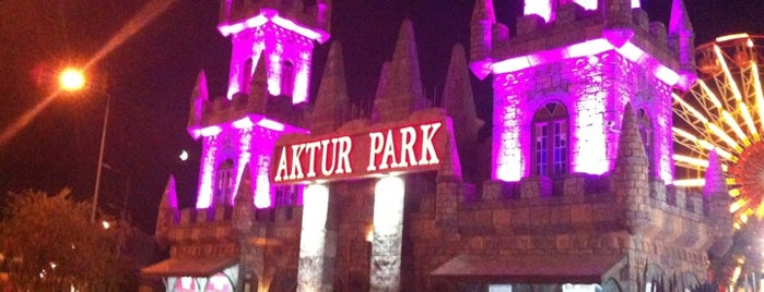 Aktur Lunapark is one of Antalya.