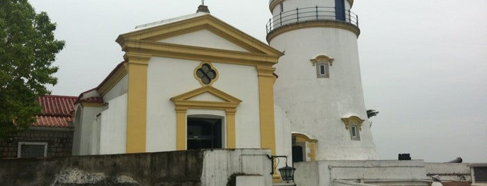 Fortaleza da Guia 東望洋炮台 (松山炮台) is one of UNESCO World Heritage Sites (Asia).