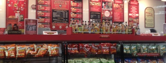 Firehouse Subs is one of JODY & MY PLACES Owings Mills, & BALTIMORE,MD.