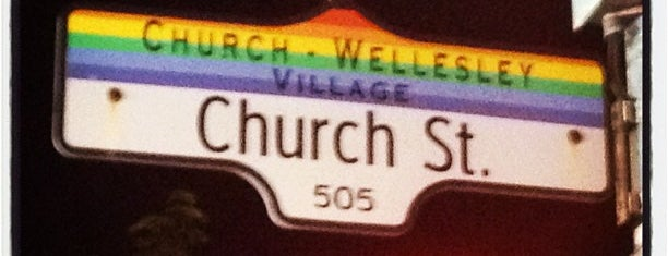 Church & Wellesley is one of Hipster Toronto.