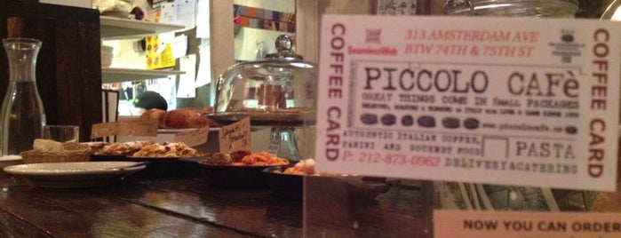 Piccolo Café is one of GW/NY Brunches.