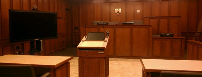 Kline and Specter Moot Courtroom @ Penn Law is one of Penn Law Locations.
