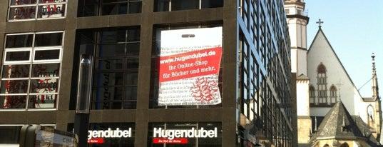 Hugendubel is one of Shopping in Leipzig.