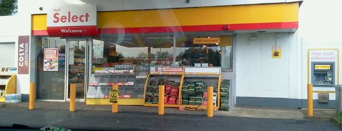 Shell is one of Truckstops And Other Places To Park Overnight.