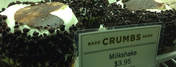 Crumbs Bake Shop is one of Must-visit Food Around Forty Duece.