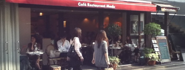 Cafe Madu is one of ペット可_テラス.