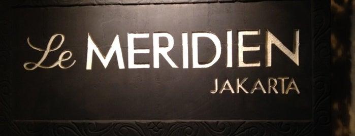 Le Méridien Jakarta is one of Workspace.