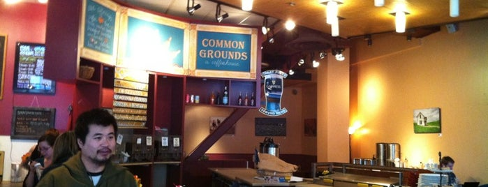 Common Grounds is one of Free WiFi.