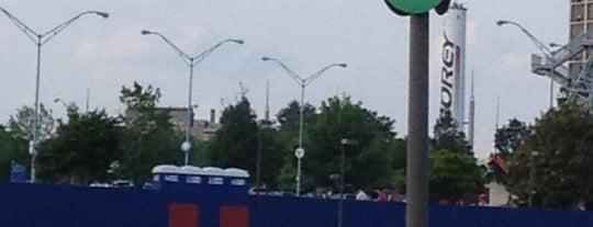 Turner Field - Green Lot is one of #416by416 - Dwayne list1.