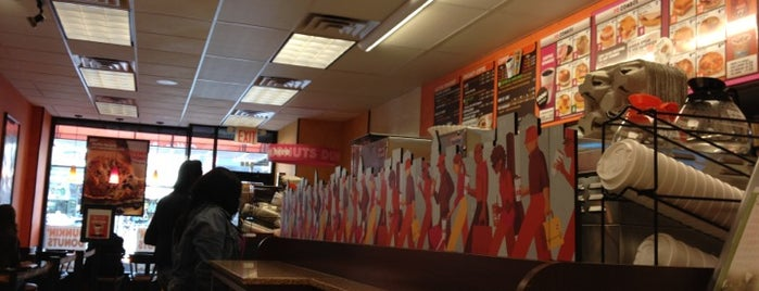 Dunkin Donuts is one of Brooklyn.