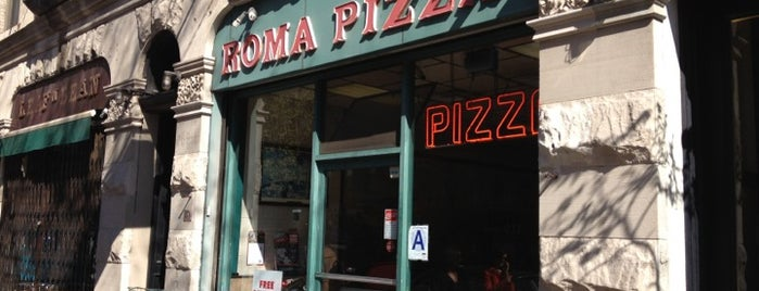 Roma Pizza is one of Learning the Slope.