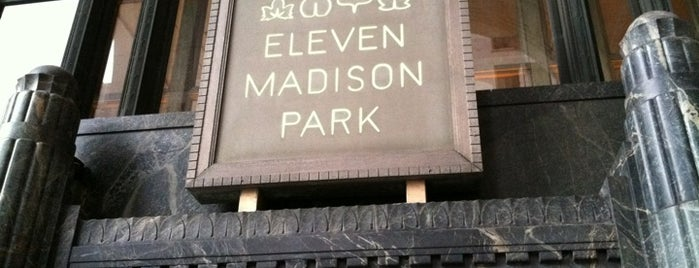 Eleven Madison Park is one of NYC Dining.