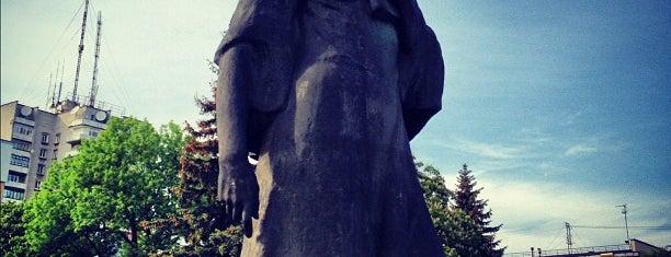 Пам'ятник Лесі Українці is one of Луцк.