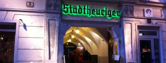 Zwölf Apostelkeller is one of StorefrontSticker #4sqCities: Vienna.