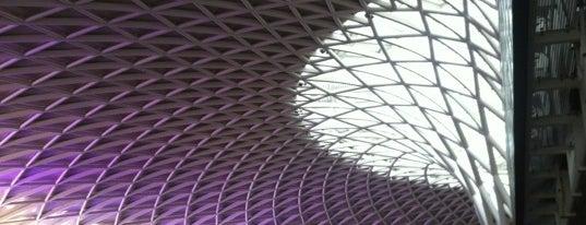 London King's Cross Railway Station (KGX) is one of London.