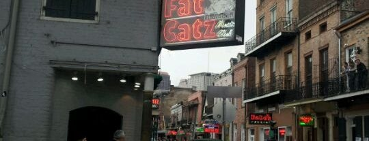 Fat Catz Music Club is one of Izzy's NOLA Places.