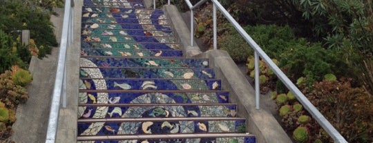 Golden Gate Heights Mosaic Stairway is one of Nor Cal Destinations.