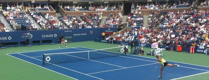 Arthur Ashe Stadium - USTA Billie Jean King National Tennis Center is one of Sports Arena's.