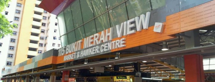 Bukit Merah View Market & Food Centre is one of Good Food Places: Hawker Food (Part I)!.