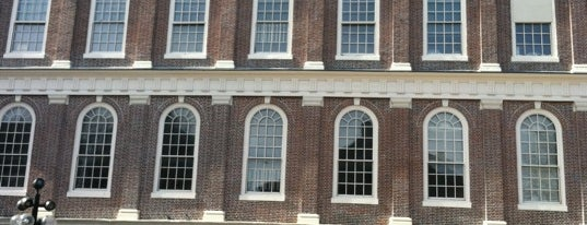 Faneuil Hall Marketplace is one of Hub History.
