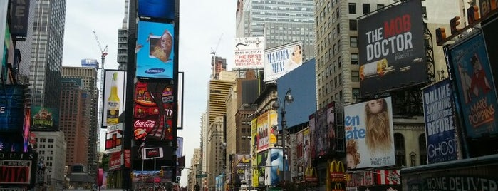 Times Square is one of Dream Destinations.