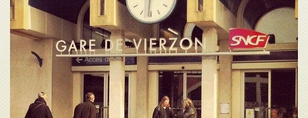 Gare SNCF de Vierzon-Ville is one of Gare.