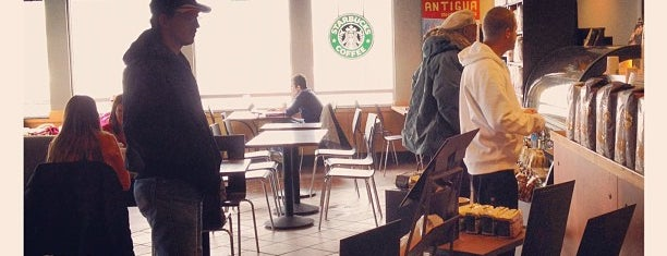 Starbucks is one of Coffee stops in Michigan City.