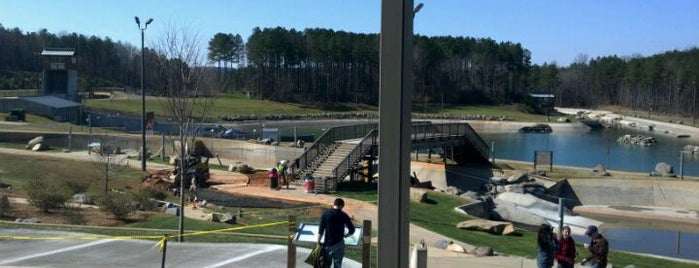 U.S. National Whitewater Center is one of Musts...Charlotte, NC.