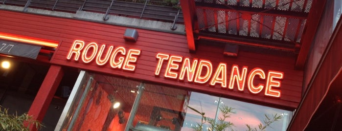 Rouge Tendance is one of Favoris.