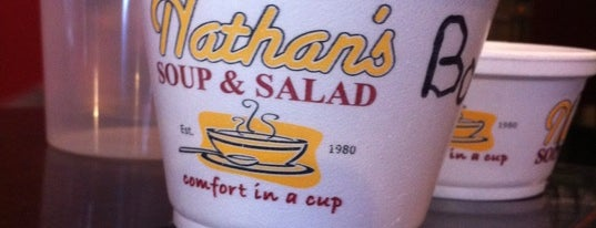 Nathan's Soup & Salad is one of The Best Spots In Rochester, NY.