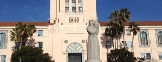 San Diego County Administration Building is one of San Diego's 59-Mile Scenic Drive.