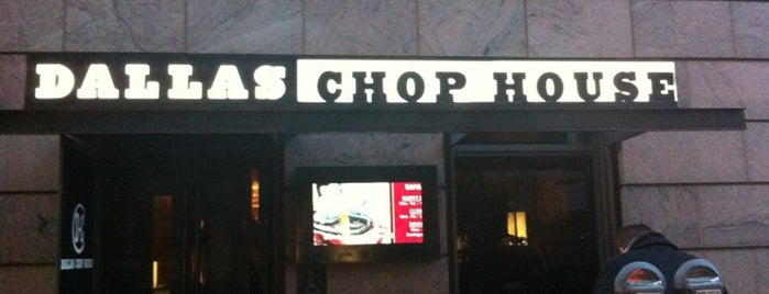 Dallas Chop House is one of FOOD in Dallas-Ft Worth Metroplex.