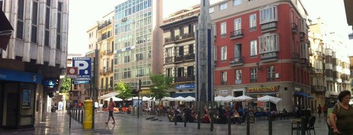 Plaza de Uncibay is one of Must-visit Plazas in Málaga.