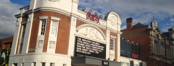 Ritzy Cinema is one of London.