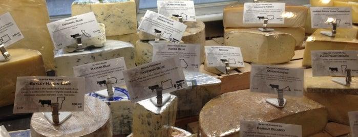 Beecher's Handmade Cheese is one of New York.