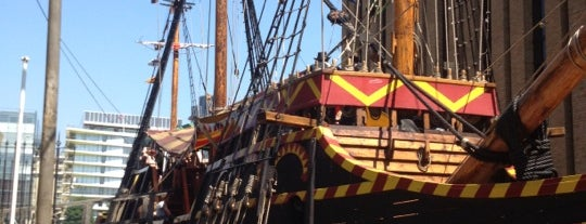 The Golden Hinde is one of Around The World: London.