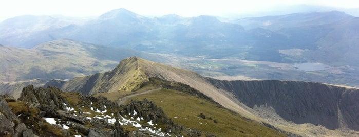 Mount Snowdon (Yr Wyddfa) Summit is one of PIBWTD.