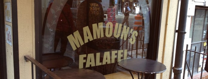 Mamoun's Falafel is one of Favoritos em New York.