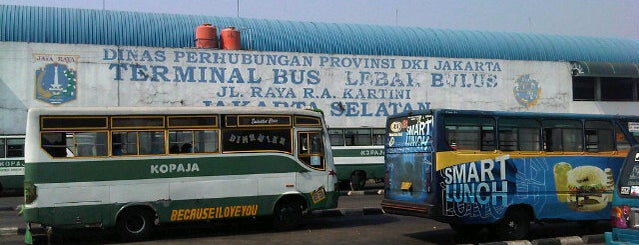 Terminal Lebak Bulus is one of My adventure collection !.