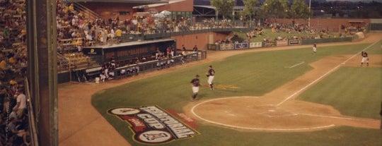 Packard Baseball Stadium is one of Phoenix.