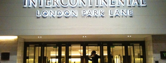 InterContinental London Park Lane is one of Favourite Hotels.
