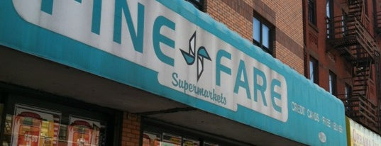 Fine Fare Supermarket is one of Club life out.
