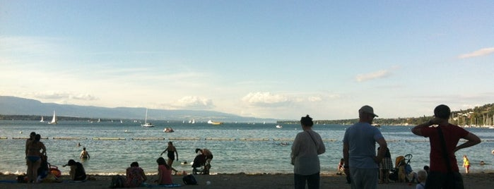 Baby Plage is one of Your local guide to Geneva.