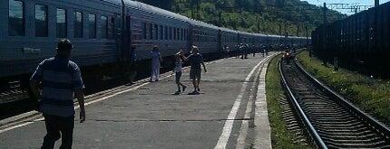 Ж/Д станция Облучье is one of Транссибирская магистраль.
