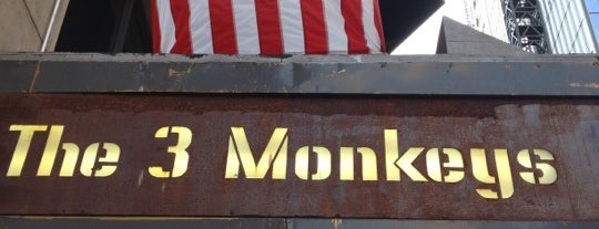 The Three Monkeys is one of Places to go with Bill.