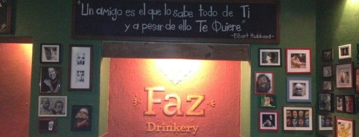 FAZ DRINKERY is one of Querétaro.