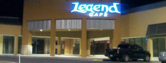 Legend Cafe is one of Places to try: fun.