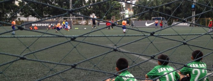สนามฟุตบอล Family Soccer is one of Favorite Great Outdoors.