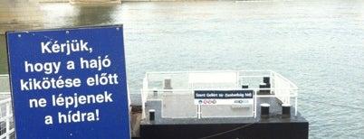 Szent Gellért tér M (Szabadság híd) (D11, D12) is one of BKV D11 kikötők.